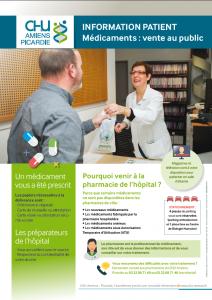 CHU_Amiens_Picardie_Info_Patient_Medicaments_vente_au_public_V2_DEC_2016