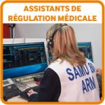 Etudiants bouton assistants regulation medicale ARM