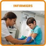 Etudiants bouton infirmiers IFSI
