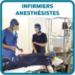 Etudiants bouton infirmiers anesthesistes IADE